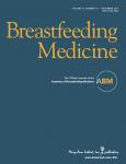 Breastfeeding Medicine, Vol. 15, n°6 - Juin 2020